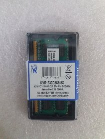 Ram Laptop Kingston DDR3 8GB Bus 1333Mhz PC3-10600