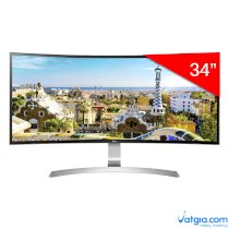 Màn Hình Gaming Cong LG 34UC99-W UltraWide 34inch QHD 5ms 75Hz FreeSync IPS