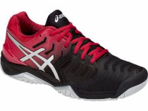 Giày Tennis Asics Gel Resolution 7 Red/Black -E701Y-001