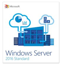 Microsoft Windows Server Standard 2016 64Bit English 1pk DSP OEI DVD 16 Core (P73-07113)