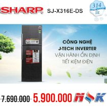 Tủ lạnh Inverter Sharp SJ-X316E-DS