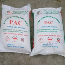PAC trắng Việt Nam ( Hight Purity White Power PAC ) 25kg/bao