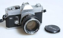 Canon FTB QL W/50mm f1.4 Canon FD Lens and Strap