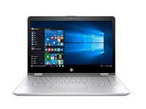 HP Pavilion X360 14-BA0081CA ( ntel® Core™ i5-7200U (2.5GHz with turbo boost up to 3GHz , 3MB L3 Cache) Dual Core, Ram 8GB DDR3L SDRAM (1 DIMM), HDD 128GB solid-state drive )