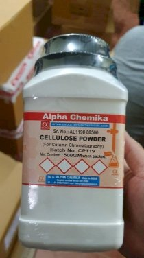 Cellulose powder , 500g ,Alpha Chemika , Ấn Độ
