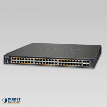 Planet GS-5220-48PL4XR L3 48-Cổng 10/100 / 1000T 802.3at PoE + 4-Cổng 10G SFP +