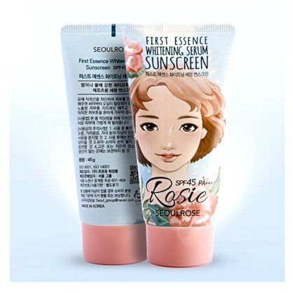 Kem chống nắng SeoulRose First Essence Whitening Serum Sunscreen SPF45 PA+++