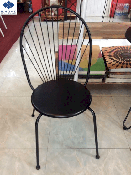 Ghế cafe khung sắt S-Home S28