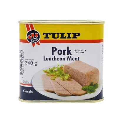 Thịt heo hộp Tulip Pork Luncheon Meat 340g