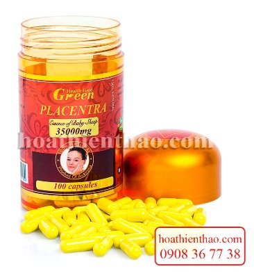 nhau thai cuu Health Food Green 35000mg 2
