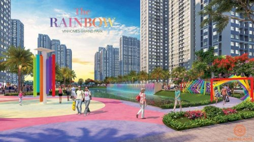 Mua nhà The Rainbow Vinhomes Grand Park