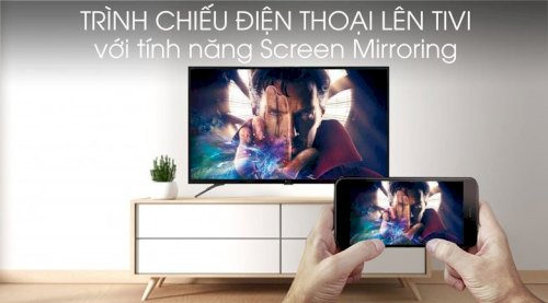 Screen Mirroring - Android Tivi Casper 43 inch 43FG5000